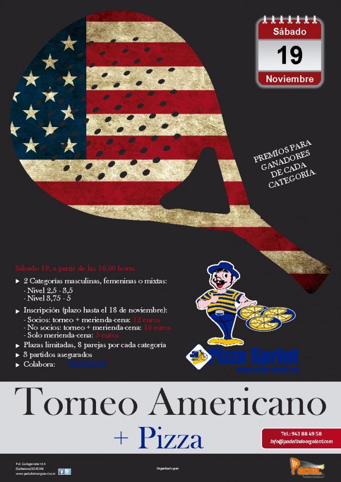 Torneo Americano + Pizzas