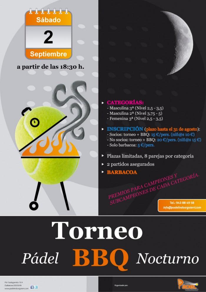 Torneo Nocturno + BBQ