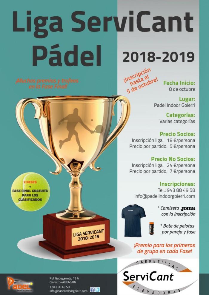 Liga ServiCant 2018-2019