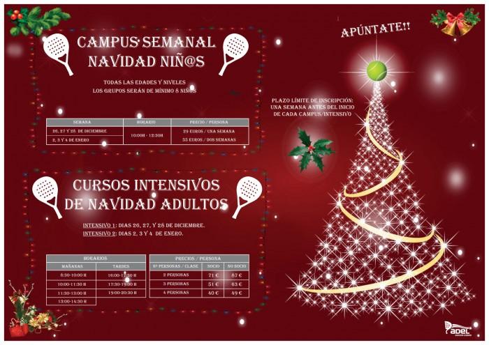 Campus Niñ@s / Intensivos Adultos Navidad 2018