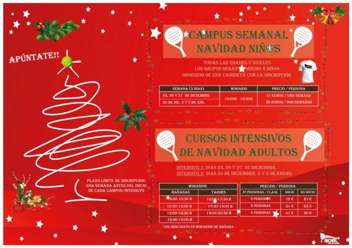 Campus Niñ@s / Intensivos Adultos Navidad 2019